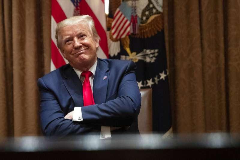 美國總統川普。(美聯社)