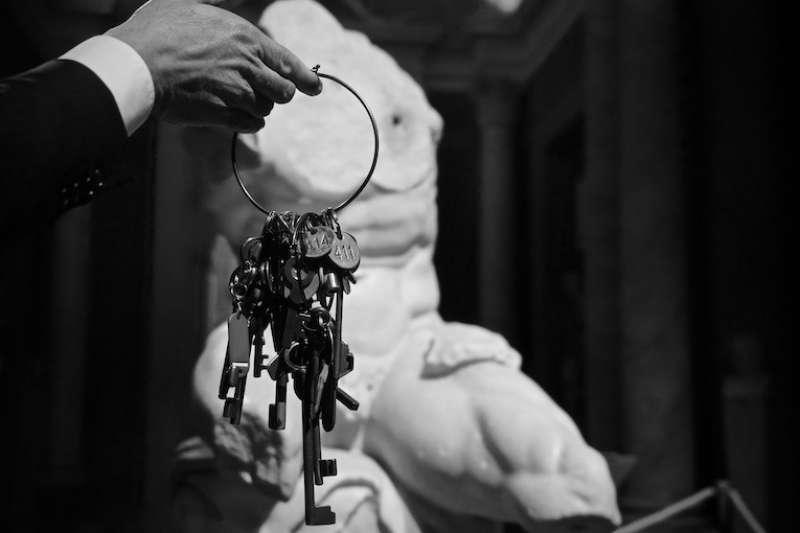 「守護鑰匙的人」(Clavigero) (曾廣儀攝)