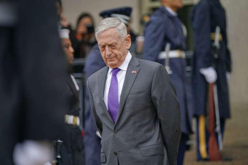 美國前國防部長馬提斯。(美聯社)