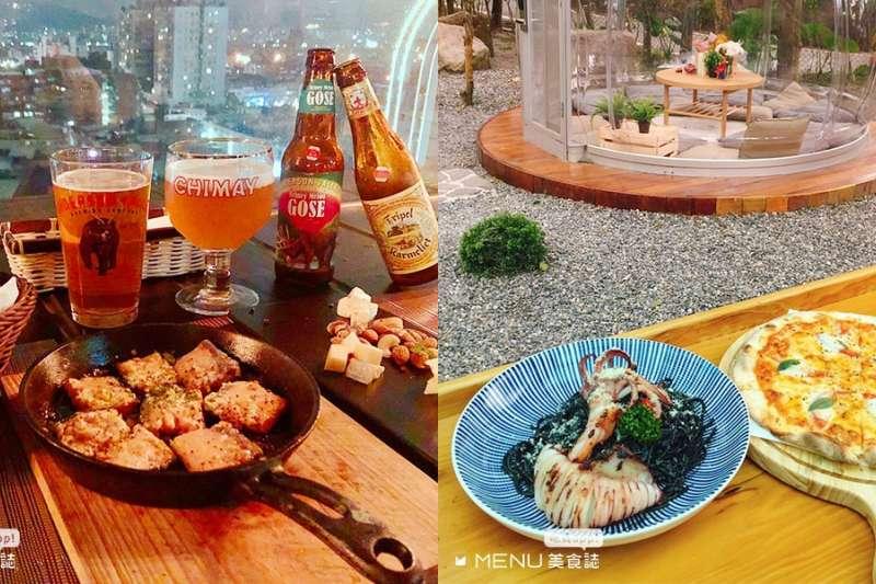 休假日想來場浪漫的約會晚餐,這些景觀餐廳不只氣氛佳,就連義大利麵也是品質保證。(圖/MENU美食誌提供)