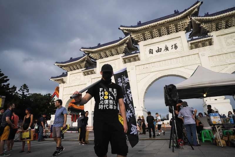 20200613-「抗爭未完,台港同行」反送中一週年晚會。(陳品佑攝)