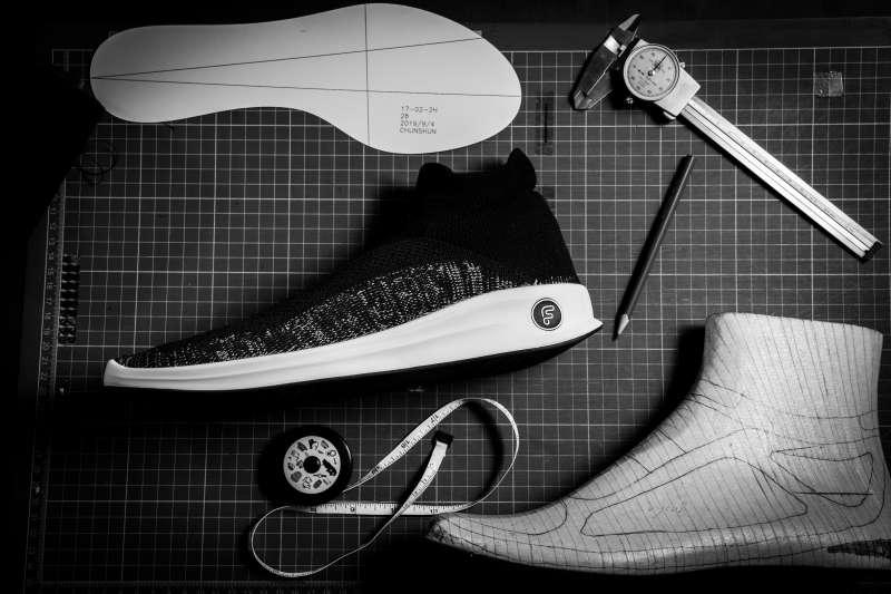 鞋子跟著腳,讓鞋子變成身體的一部分是Feebees襪鞋的理念(圖片來源:Feebees)