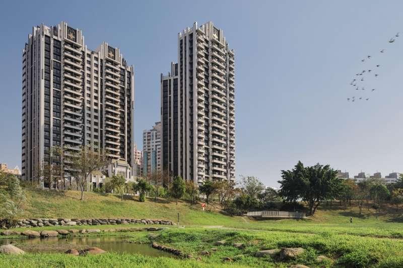 建商在定價時會有「垂直價差」,樓層越高,通常價格都會越貴,建商開價通常會以4樓為基準往上加。圖為「御廳苑」,座落於文山特區最精華景觀壓軸角地。(圖/徐炳文翻攝)