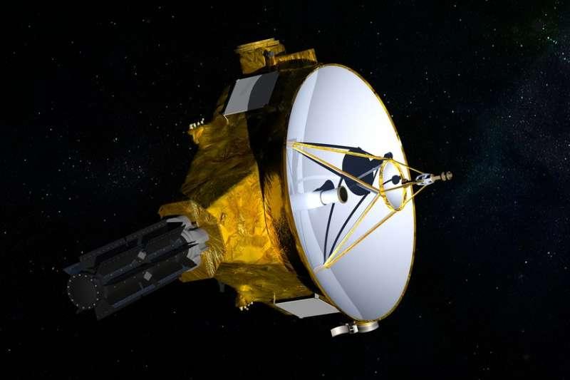 美國航太總署「新視野號」再度打破紀錄,從69億公里外拍攝到離地球最近恆星的照片。(AP)