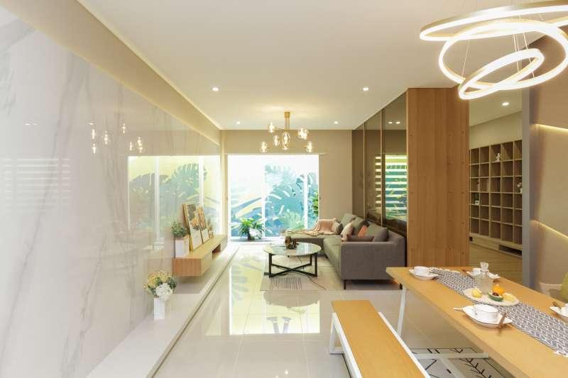 「豐謙VITA」規劃37~50坪、中小坪數的河岸景觀住宅。(圖/富比士地產王提供)