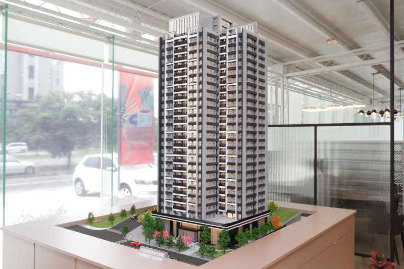 「豐謙VITA」基地面積達1500坪,將興建樓高24層的地標建築。(圖/富比士地產王提供)
