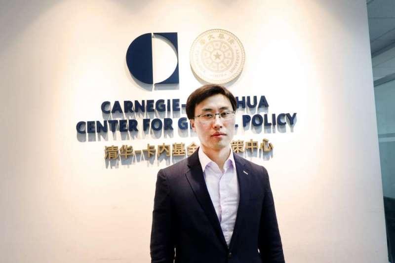 東北亞專家趙通表示,北韓看準中美兩國對立日益嚴重的時機,接下來可能伺機發射遠程洲際導彈展現威懾力量。(林庭瑤攝)