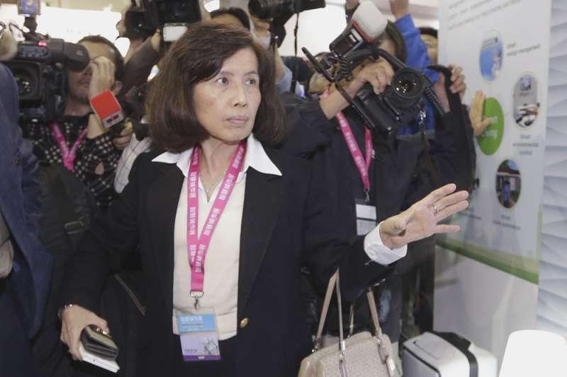 林郭文豔曾自行將市場派提名的董事名單全數剔除,被告上法庭。(新新聞資料照)