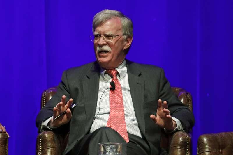 美國前白宮國家安全顧問波頓(John Bolton)(AP)