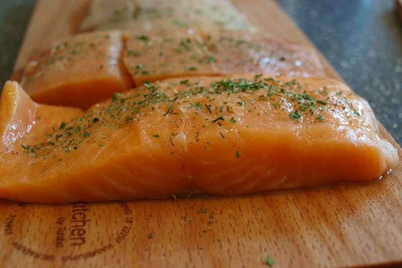 鮭魚(圖/pixabay)