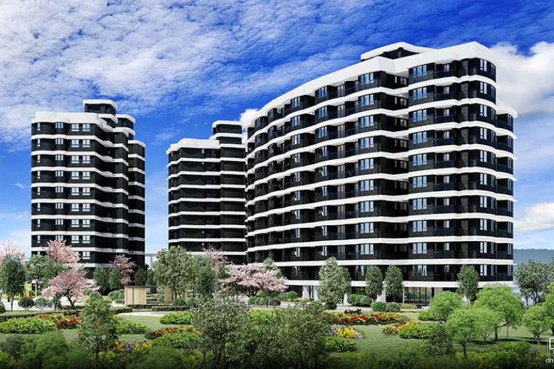 「台北雪梨灣」基地共3980坪,規劃2房至4房格局。(圖/富比士地產王提供)