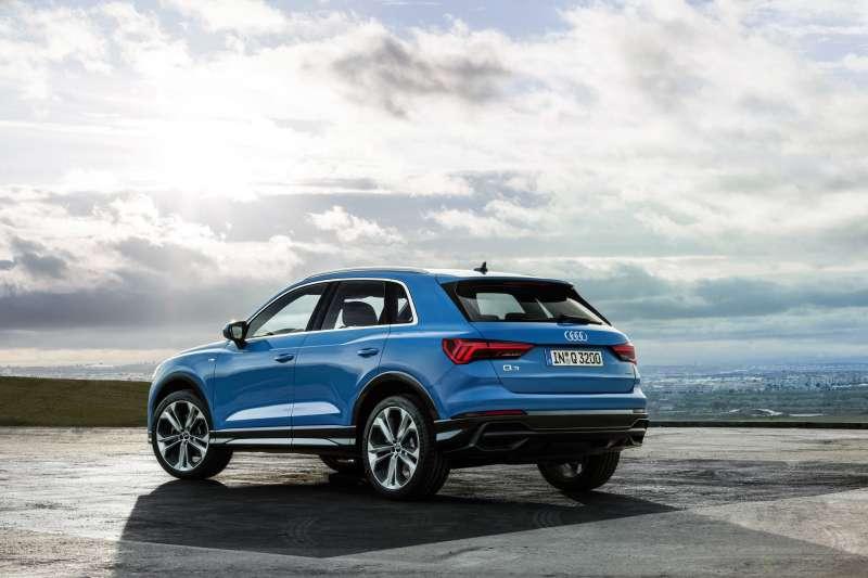 The new Audi Q3擁有許多科技亮點。(圖/台灣奧迪提供)