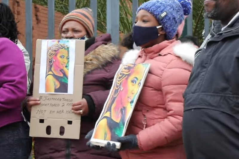 Tshegofatso Pule遭人殘忍殺害,震撼南非社會。(圖/ 取自youtube)