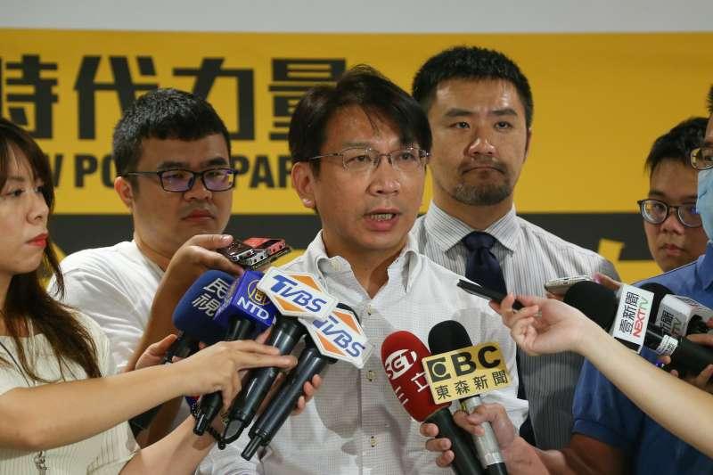 20200620-時代力量主席徐永明20日出席黨代表大會。(顏麟宇攝)