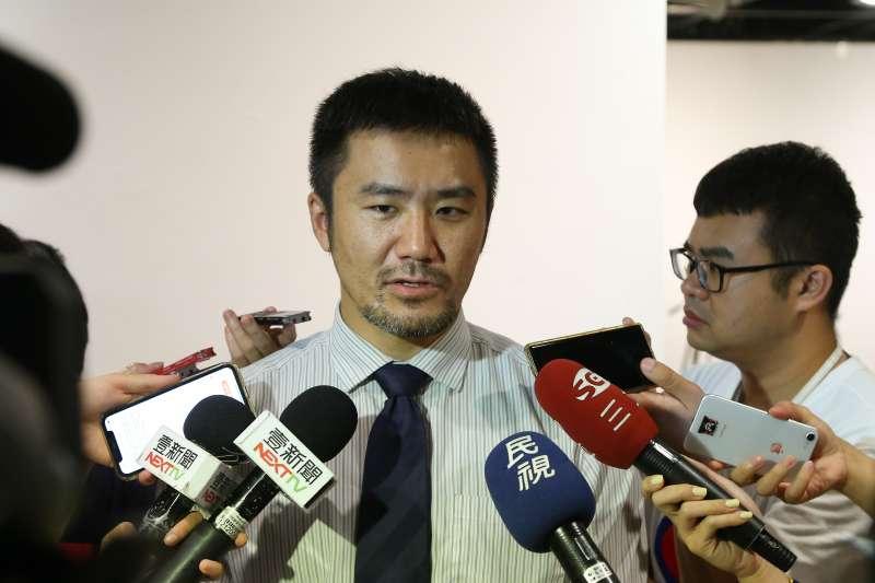20200620-時代力量秘書長陳志明20日出席黨代表大會。(顏麟宇攝)
