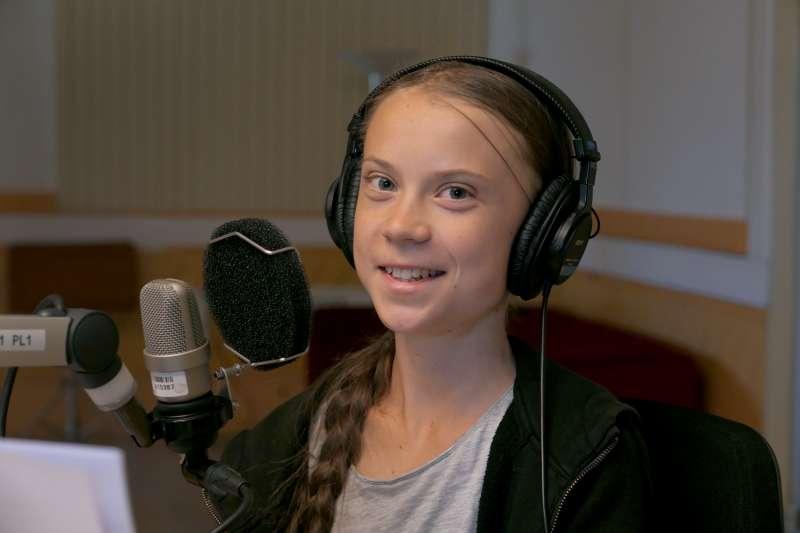 瑞典少女氣候戰士通貝里(Greta Thunberg)(AP)