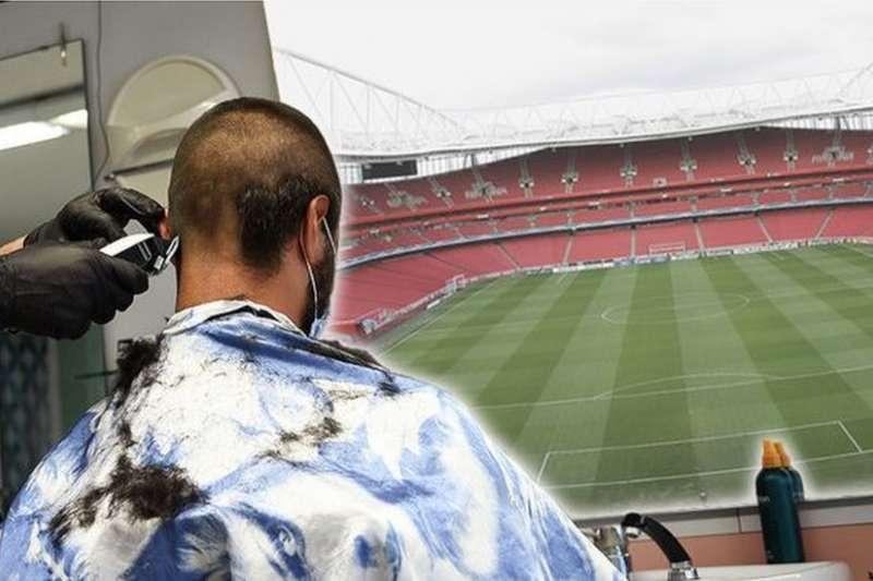 防疫期間,英超球員的完美髮型引發議論。(BBC中文網/Getty Images)
