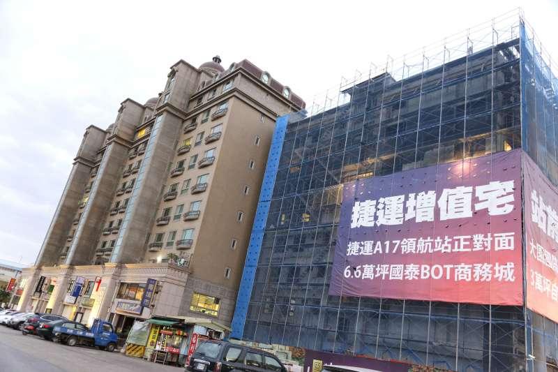 與大台北高房價相比,青埔特區建案的房價相對較便宜、負擔較小,建設也漸多。(新新聞資料照)