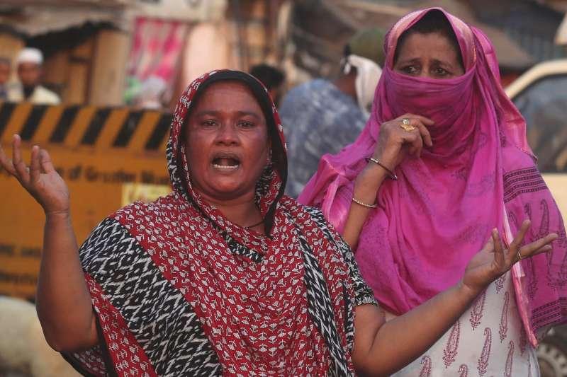 武漢肺炎疫情讓印度女性處境更艱辛(美聯社)