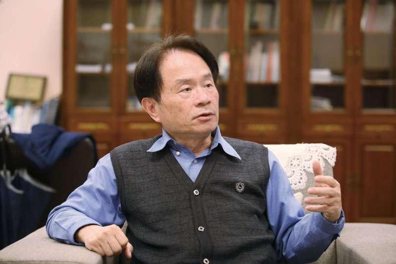 陳儀深說李登輝1999年提出特殊兩國論,可說是台灣主體性的美好句點。(柯承惠攝)