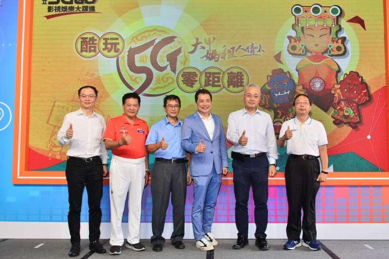 中華電信與三立集團合作的大甲媽祖遶境體驗館將於6/24於台北西門町啟用。(圖/中華電信提供)