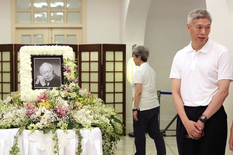 新加坡即將大選,總理李顯龍胞弟李顯揚宣布加入反對黨「新加坡前進黨」陣營。(AP)