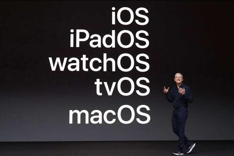 蘋果公司(Apple)將於今年秋季推出iOS 14等新版作業系統,包含多項隱私強化功能。(美聯社)