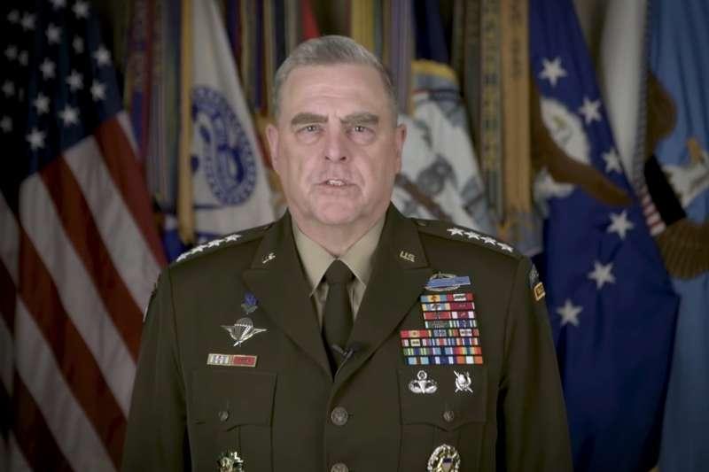 美軍參謀首長聯席會議主席米利上將。