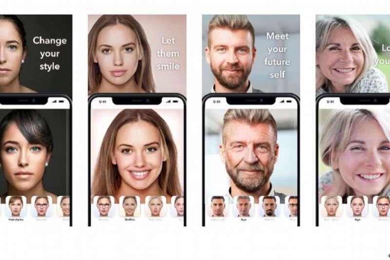 2019年曾以「換老臉」走紅的手機軟體FaceApp以極度擬真的「換性別」功能再度掀起風潮,一路從歐洲紅到亞洲。(德國之聲中文網)