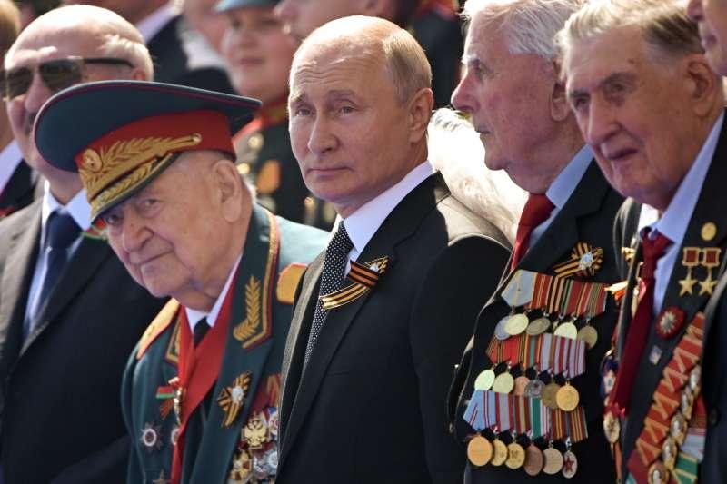 俄羅斯總統普京(Vladimir Putin)1999年12月31日上任,掌權已逾20年(AP)