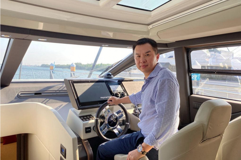 20200627-亞國遊艇集團董事長侯佑霖日前入主「燦星旅」,並曾為其最大股東。(取自亞果集團網站)