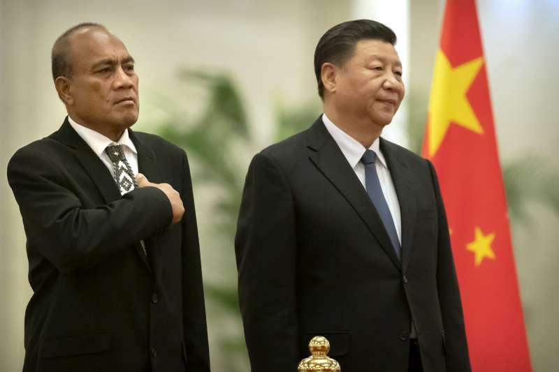 中國國家主席習近平(圖右)。(資料照,AP)