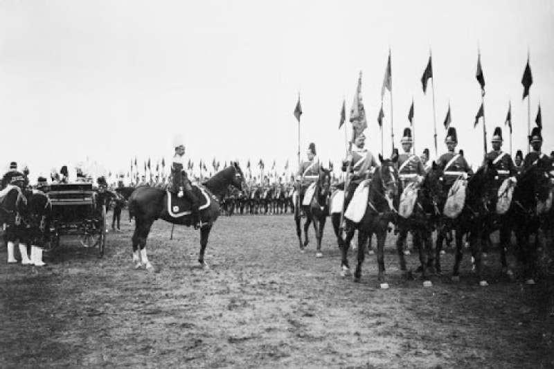 德意志帝國陸軍校閱(資料照:取自Wikimedia Commons)