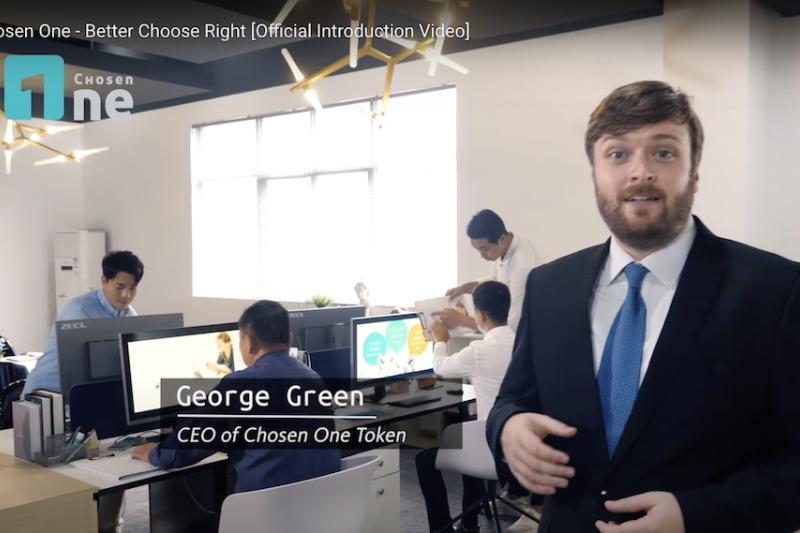 一手打造Chosen One天選幣的CEO George表示,以區塊鏈作為全新解決技術,讓收益回歸創作者本身。(圖/Chosen One天選幣提供)