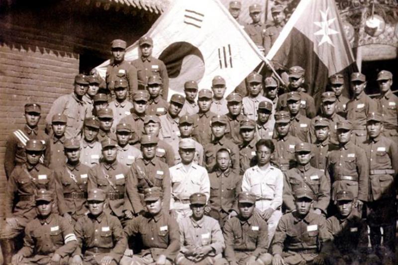 韓國光復軍是歷史上第一支打出大韓民國旗號的武裝力量,在韓國近代軍事史上有不可取代的地位。(圖片由作者提供).png