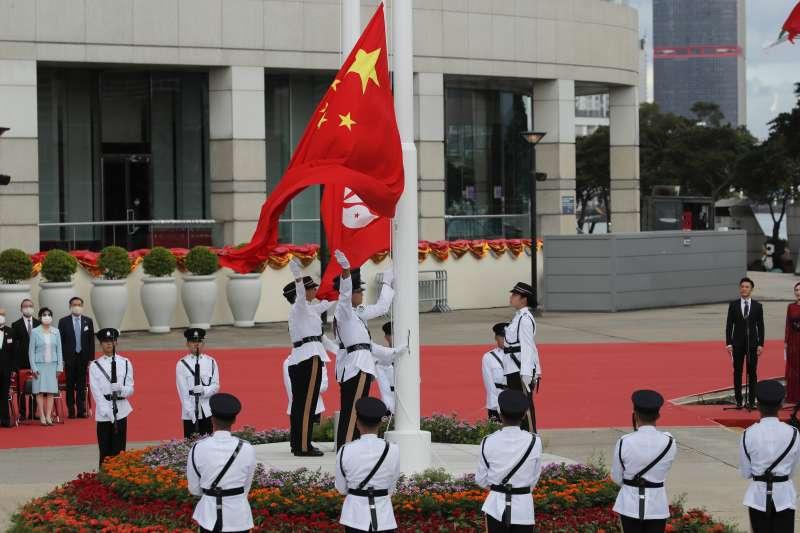 香港主權移交23周年:中國實施《香港國安法》(AP)