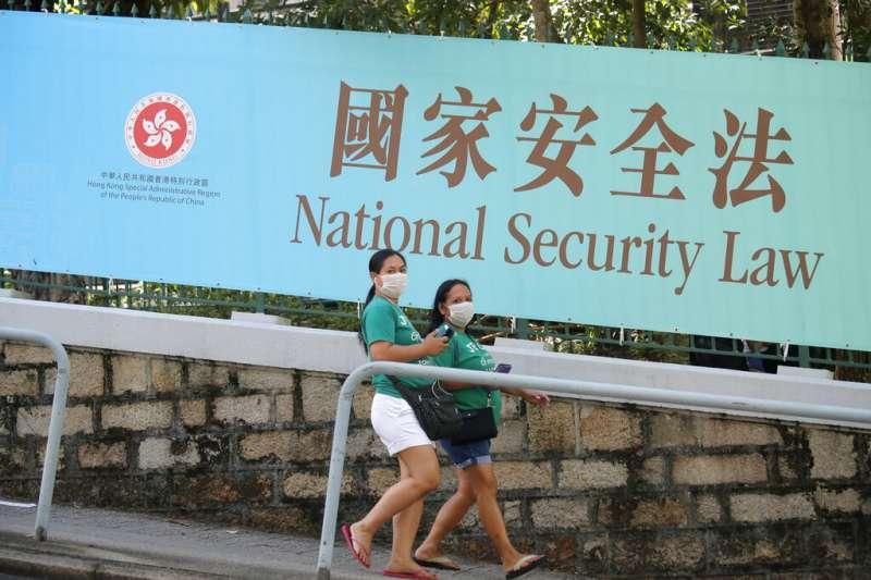 港版國安法生效後,作家陳芳明直言,在該法下眾人都可能是嫌疑犯,香港民主運動的前景似乎非常悲觀,任何精神出口都被封鎖了。(資料照,美聯社)