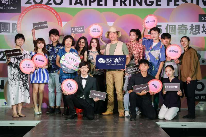 台北表演藝術中心總監王孟超(見圖)表示,藝穗節以不審核、不設限、自由開放的態度,讓創作者盡情發揮做自己。(北藝中心提供)
