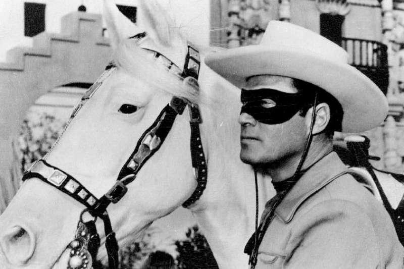 美國西部傳奇人物「獨行俠」(Lone Ranger)(Wikipedia / Public Domain)