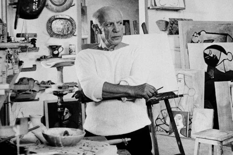 現代藝術大師、西班牙知名藝術家畢卡索(美聯社)