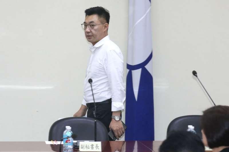 北京認為江啟臣的兩岸新論述,將讓國民黨喪失更多大陸政策優勢和深藍支持。(柯承惠攝)