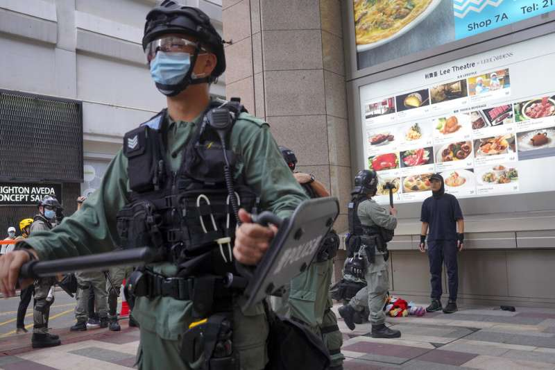 「港版國安法」通過後,台灣人該注意什麼?。(美聯社)