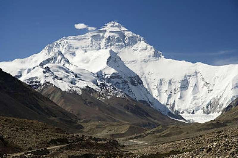 喜馬拉雅山。(圖/維基百科)