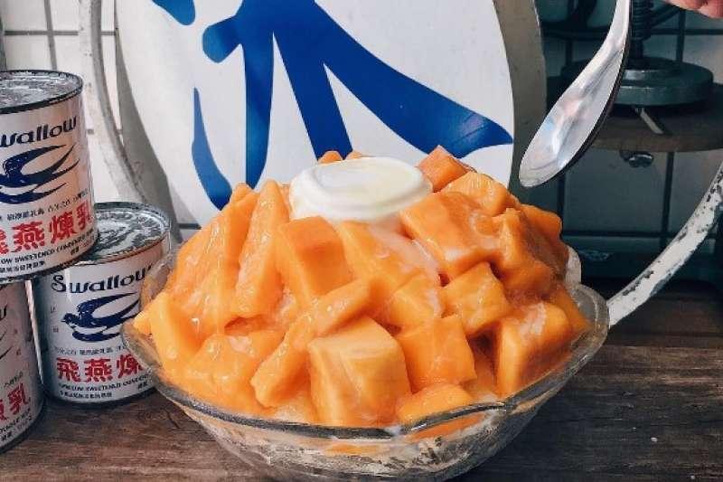 炎炎夏日就是要吃芒果冰,台北哪間最好吃?(圖/網路溫度計)