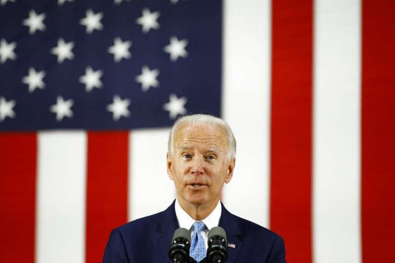 美國民主黨總統候選人、前副總統拜登(Joe Biden)(AP)