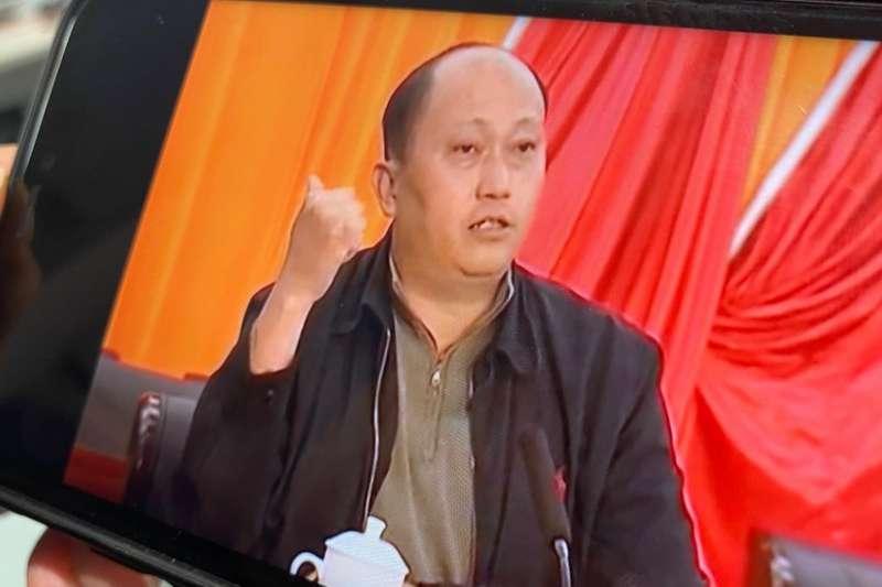 中國駐香港國安公署署長鄭雁雄(BBC)