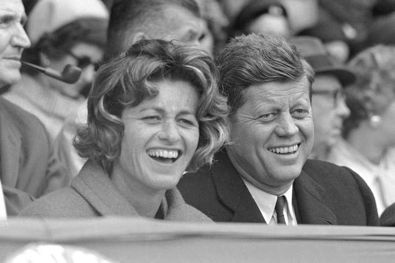 美國已故總統甘迺迪么妹季恩.甘迺迪.史密斯(Jean Kennedy Smith)6月去世,享耆壽92歲,是9位手足中最後謝世者(AP)