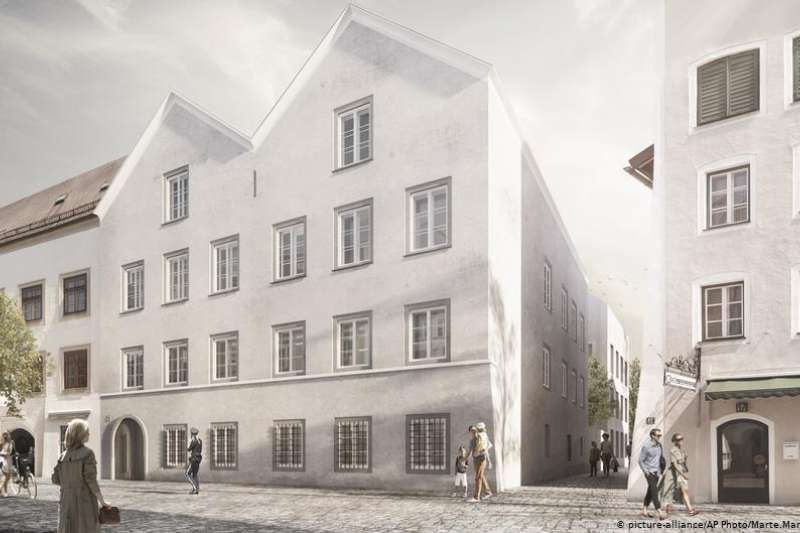 希特勒在奧地利出生時的房子將變為警察局(DW)