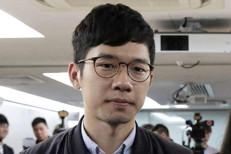 香港民主運動人士羅冠聰(Nathan Law)(AP)