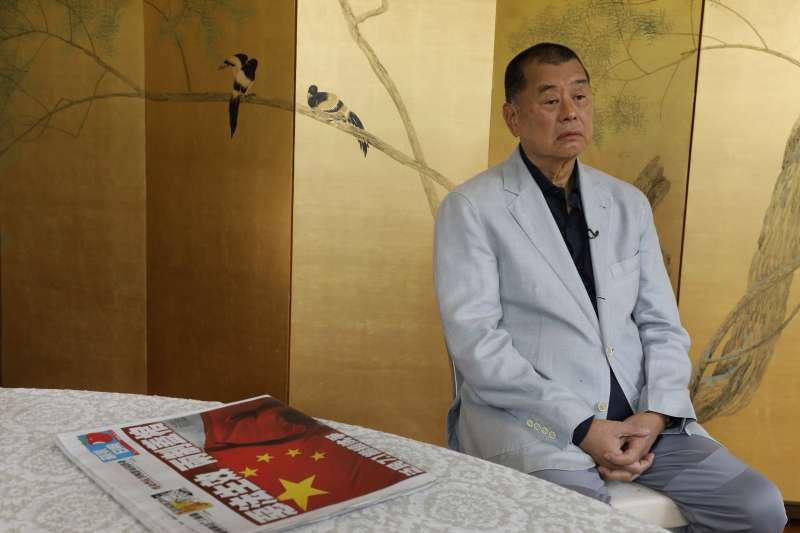 香港媒體大亨、民主運動人士黎智英(AP)